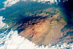 Mauna Kea From ISS