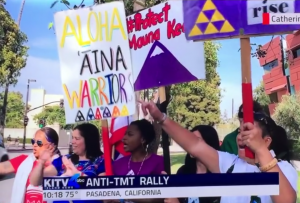 TMT Protest Caltech May 30
