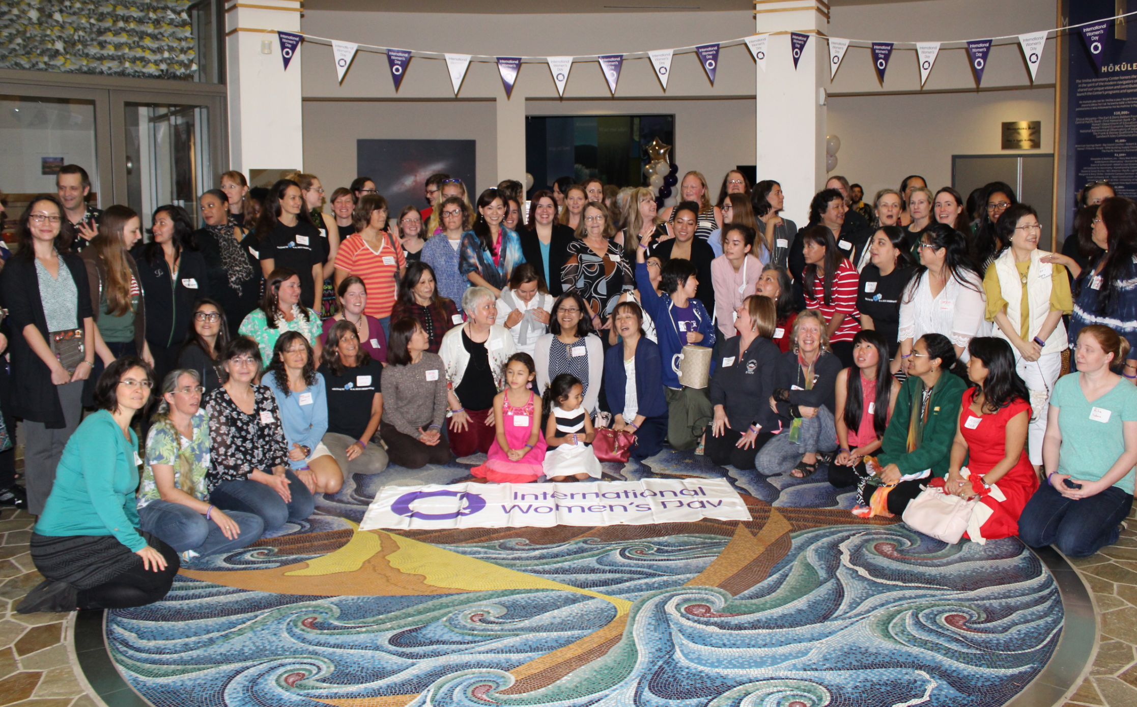 Women's Day Astronomy Hawaii
